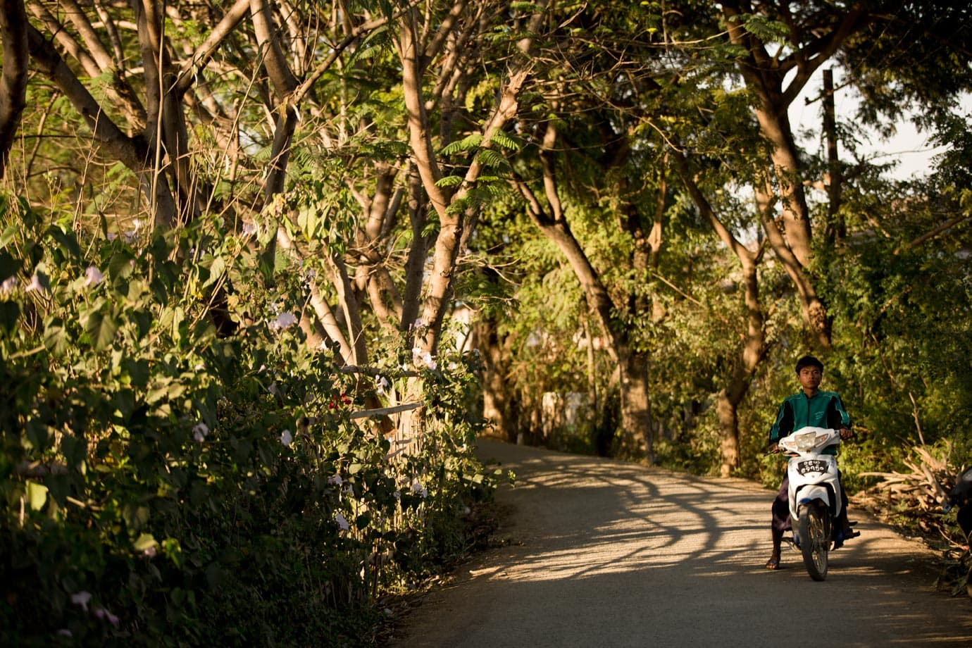 biking in myanmar