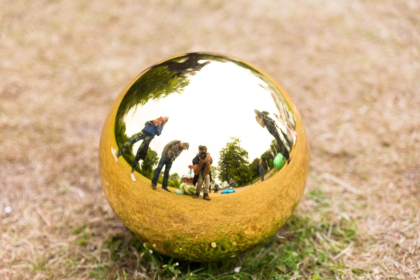 Golden Ball, Sculpture by the Sea Festival