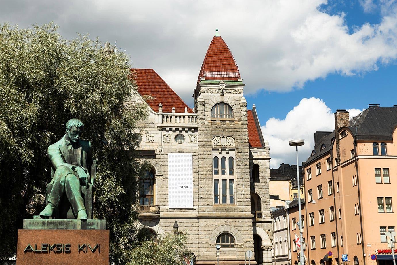 Statues in Helsinki