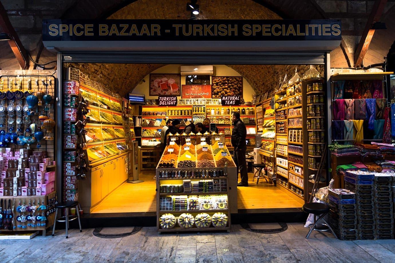 Turkish spice shop, Istanbul