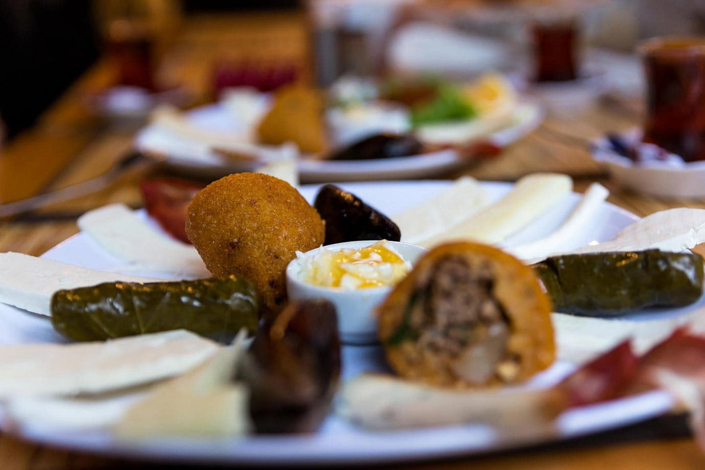 Meze platter, Istanbul