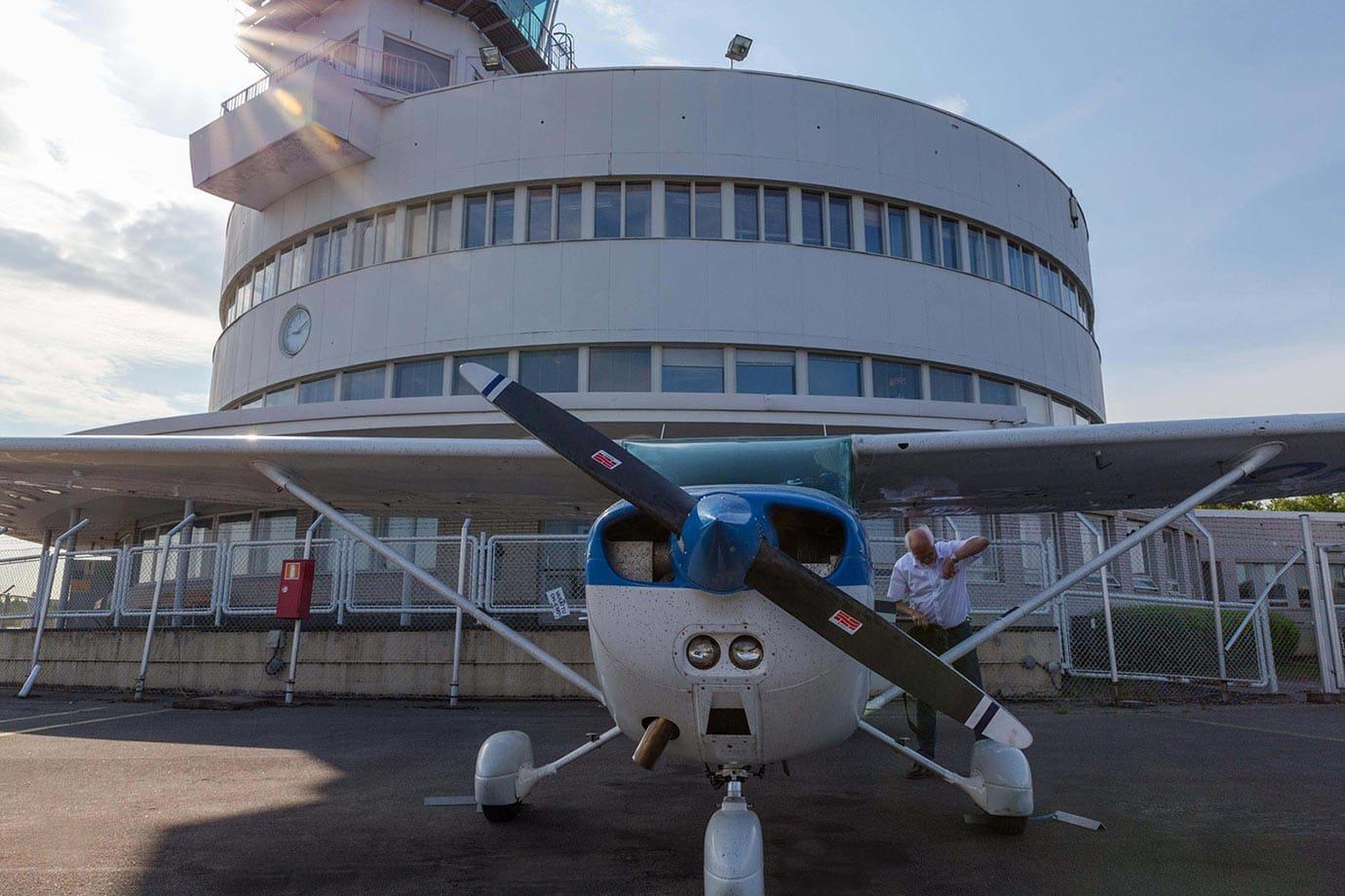 Cessna at Malmi Airport