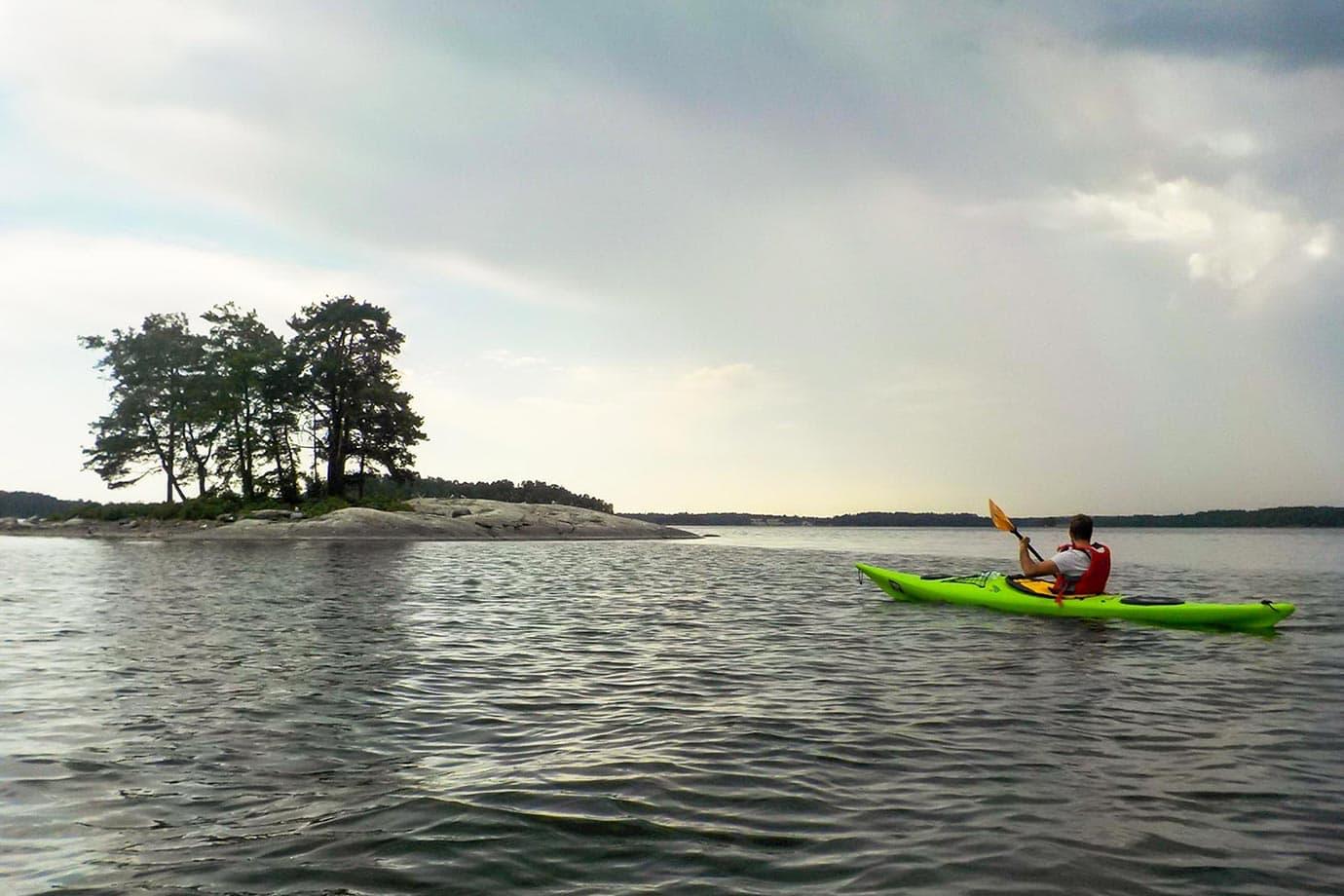 Kayaking in Helsinki