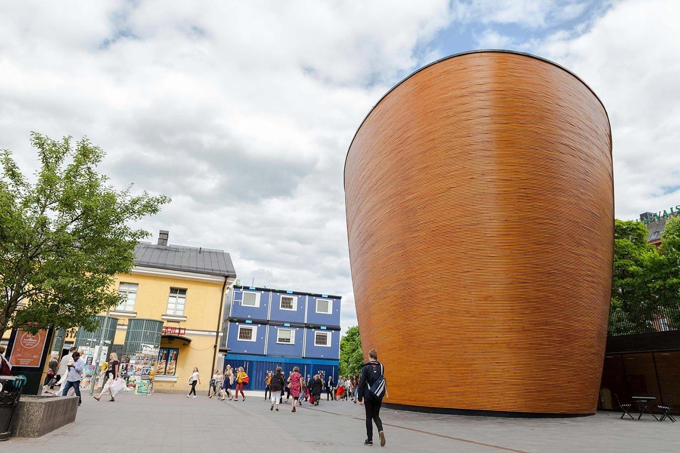 Church of Silence, Helsinki