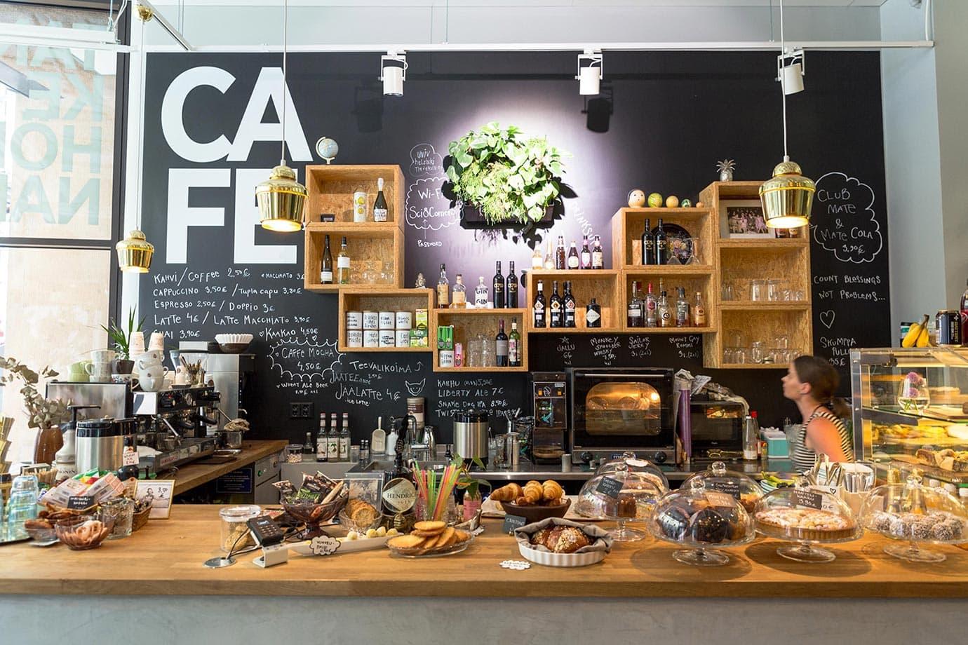 Cafe in Helsinki
