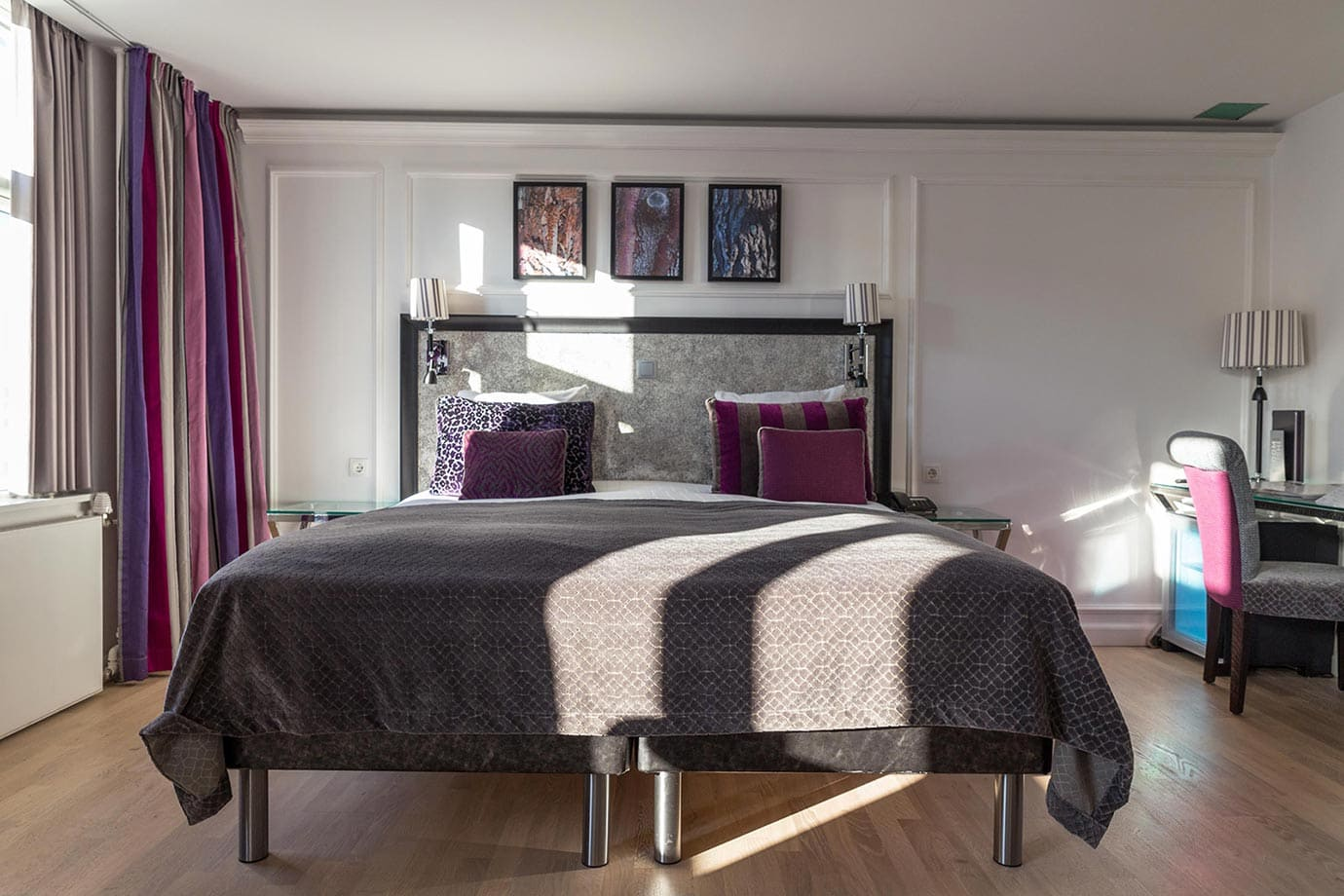 Rooms at Absalon Hotel