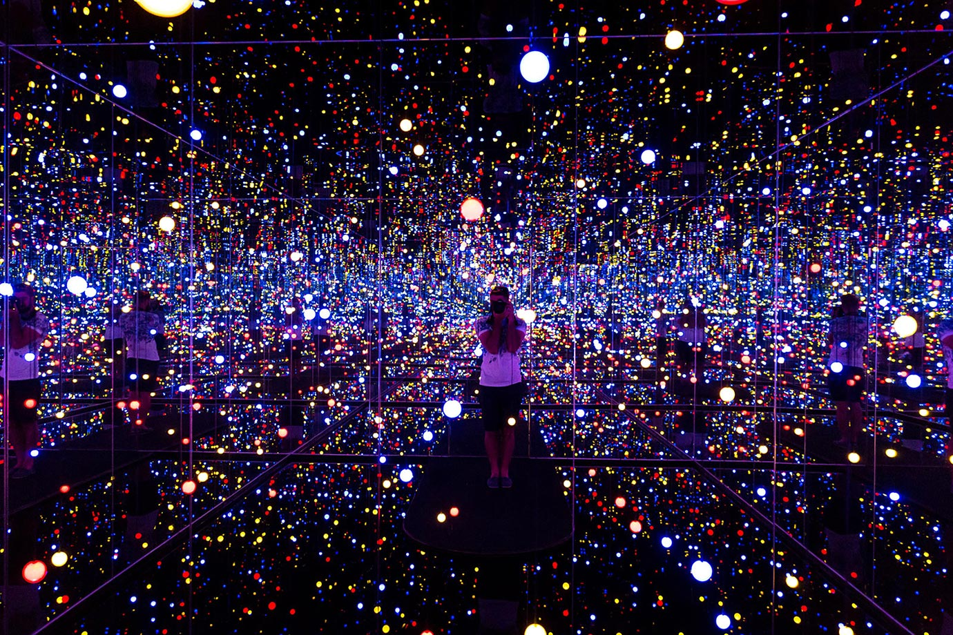 Yayoi Kusama's exhibition, Louisiana, Copenhagen
