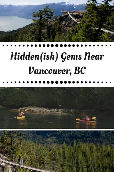 Things to do near Vancouver
