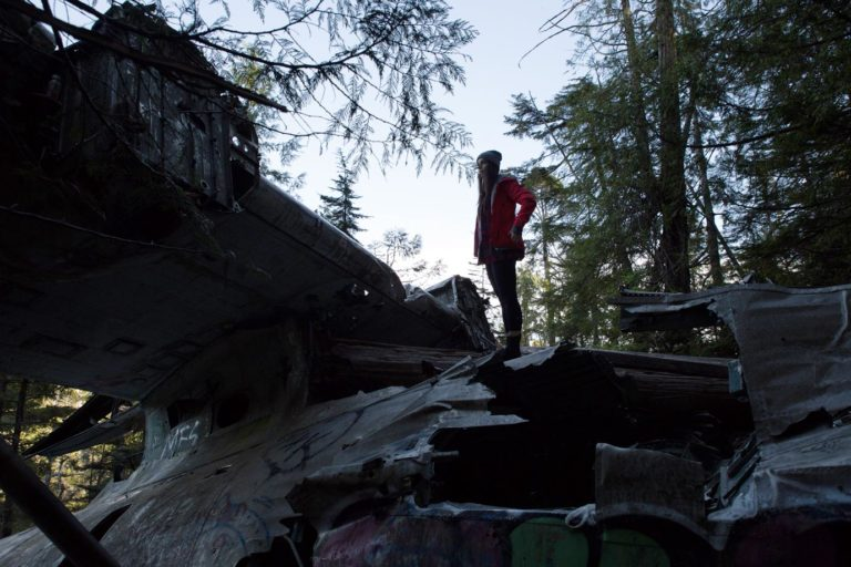 Tofino's Airplane Crash Hike