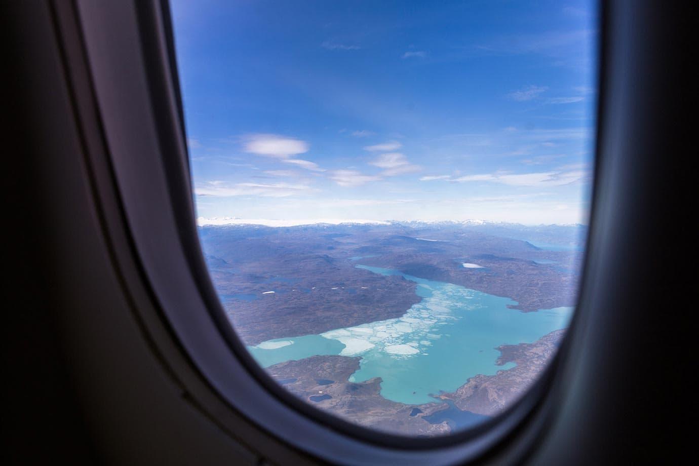 Flying Air Greenland