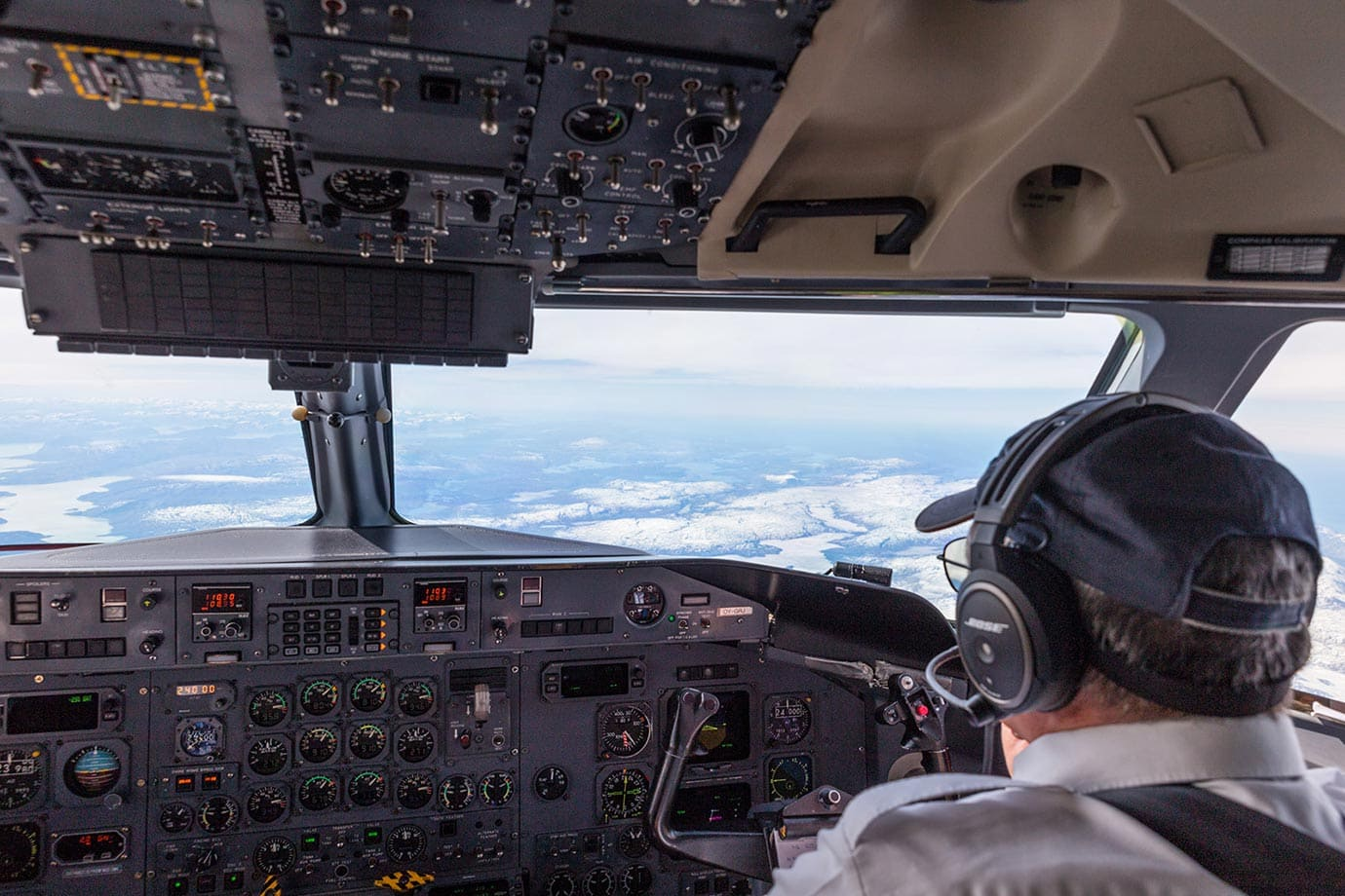 Air Greenland cockpit