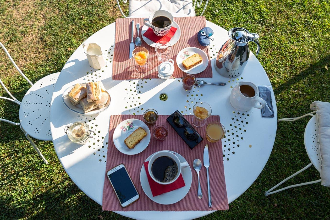 Breakfast at Le Coeurisier