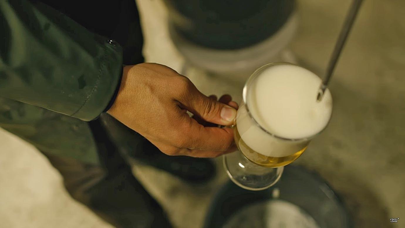 Qajaq beer, Greenland