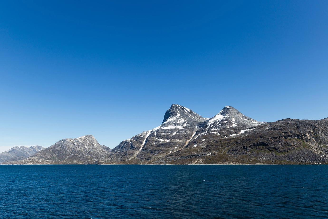 Greenland's coast