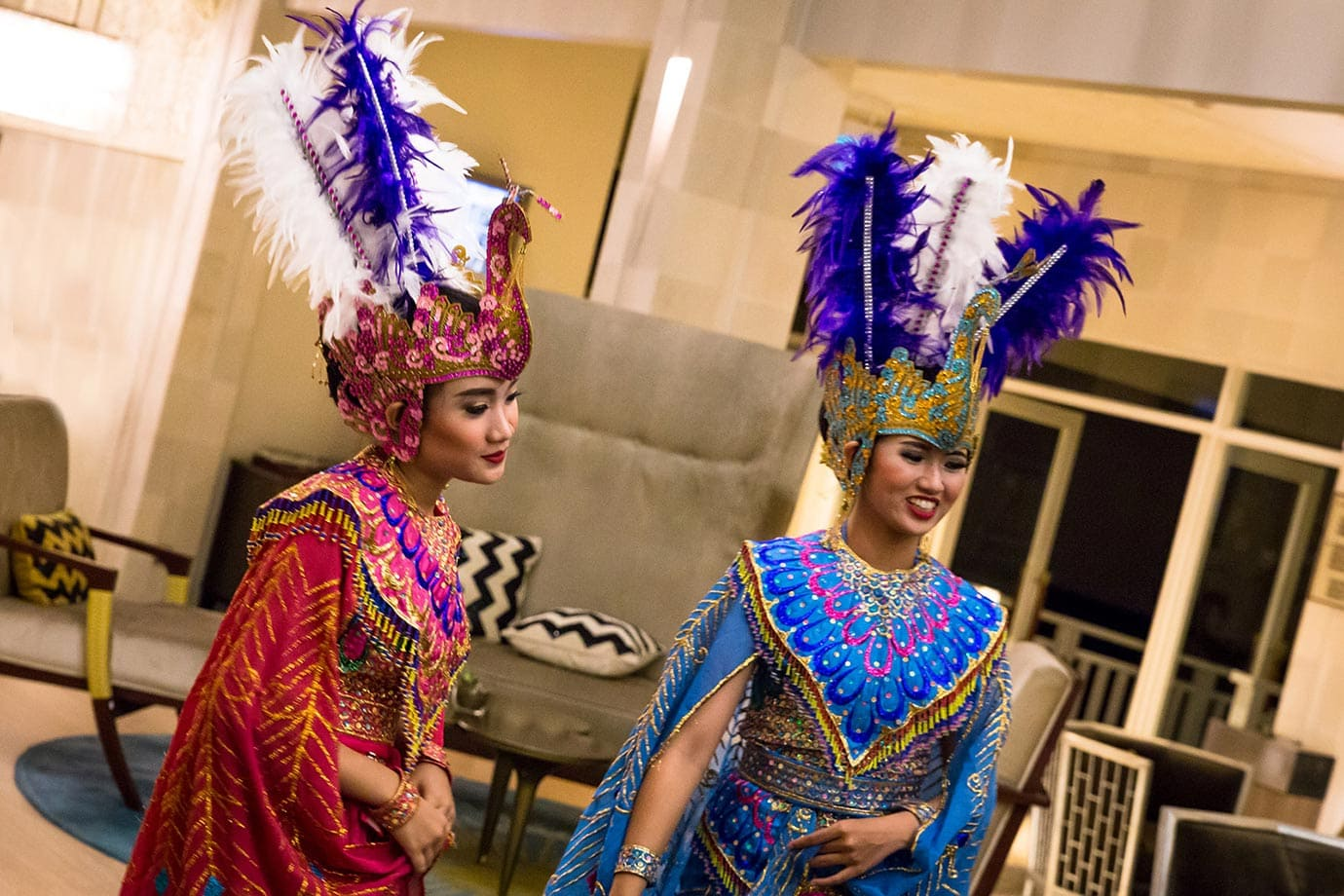 Traditional Indonesian costumes