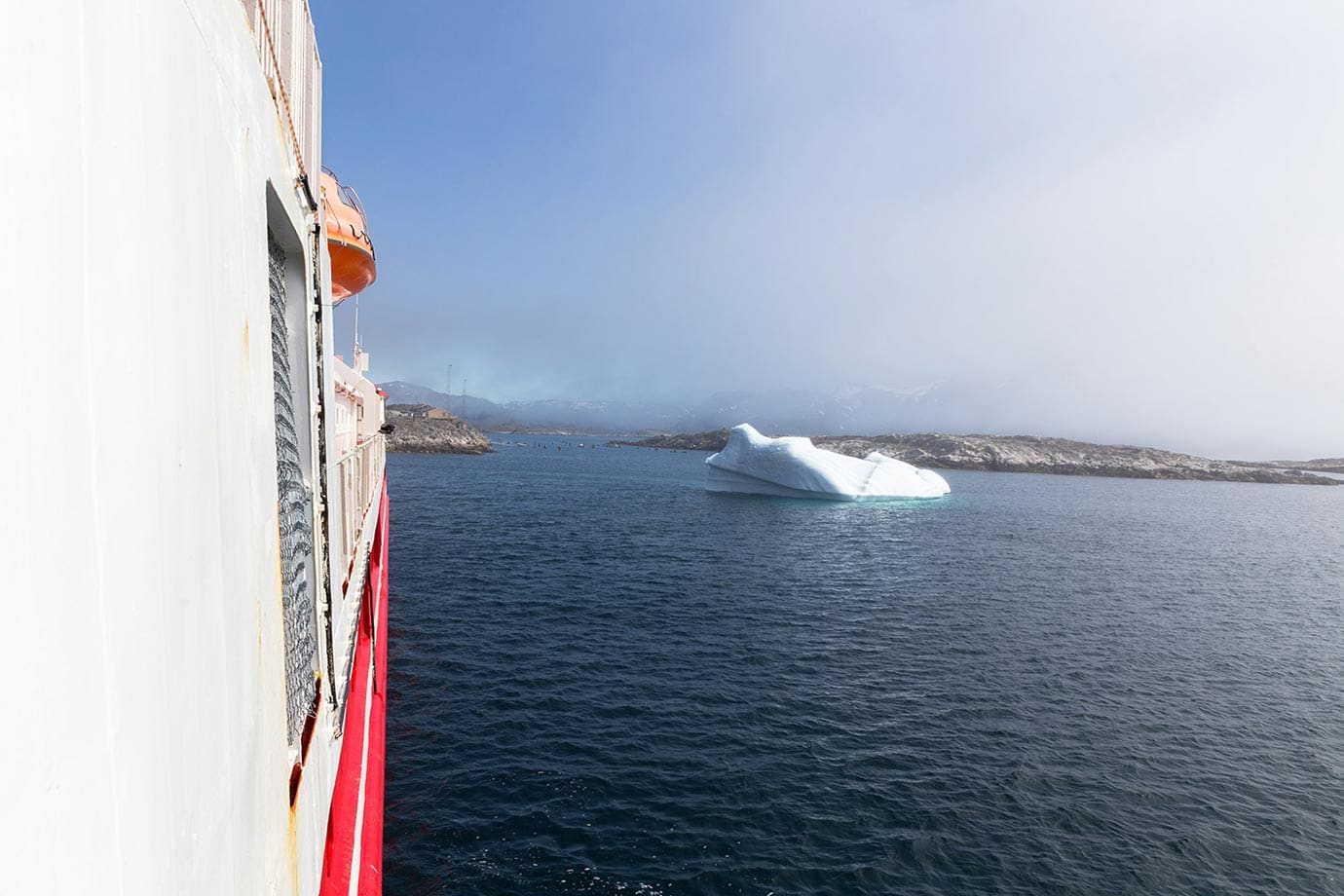 Icebergs on the Arctic Umiaq Line