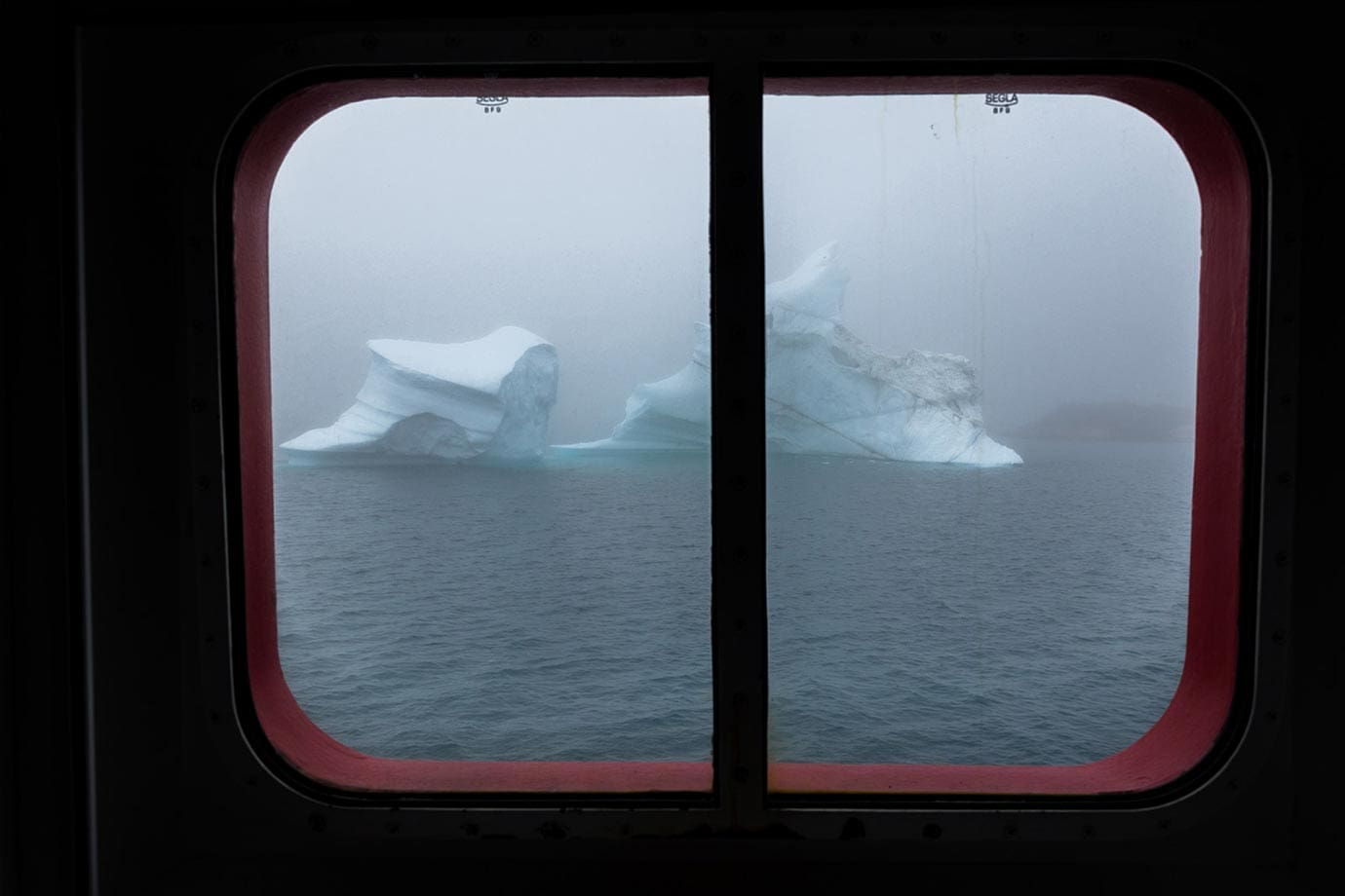 Travelling on the Arctic Umiaq Line in Greenland