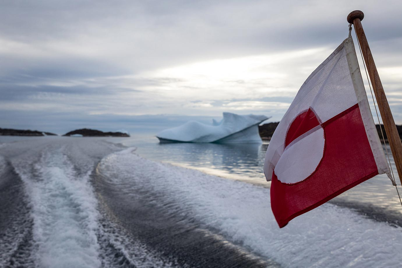 Icebergs in Qaqortoq