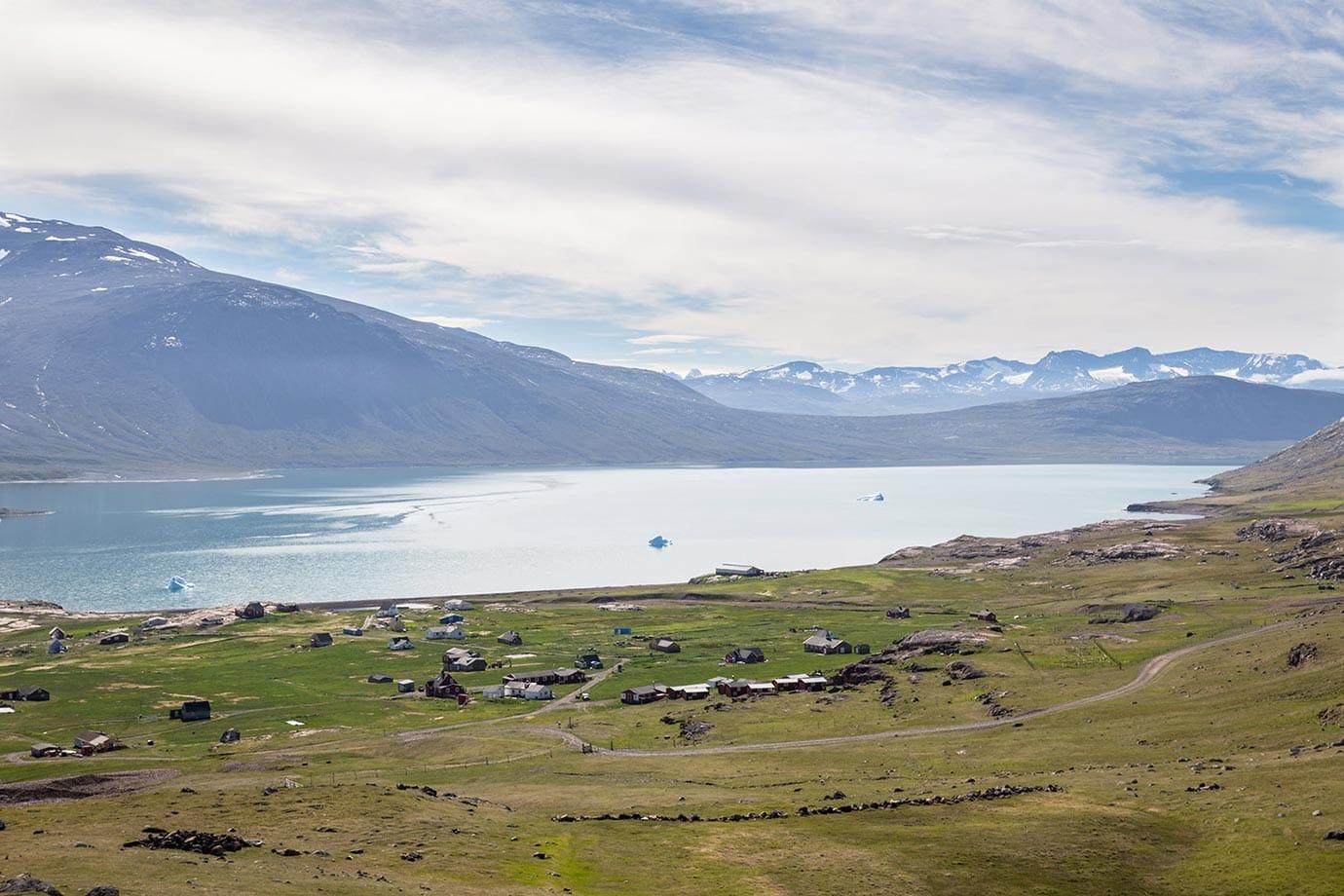 Igaliku Southern Greenland
