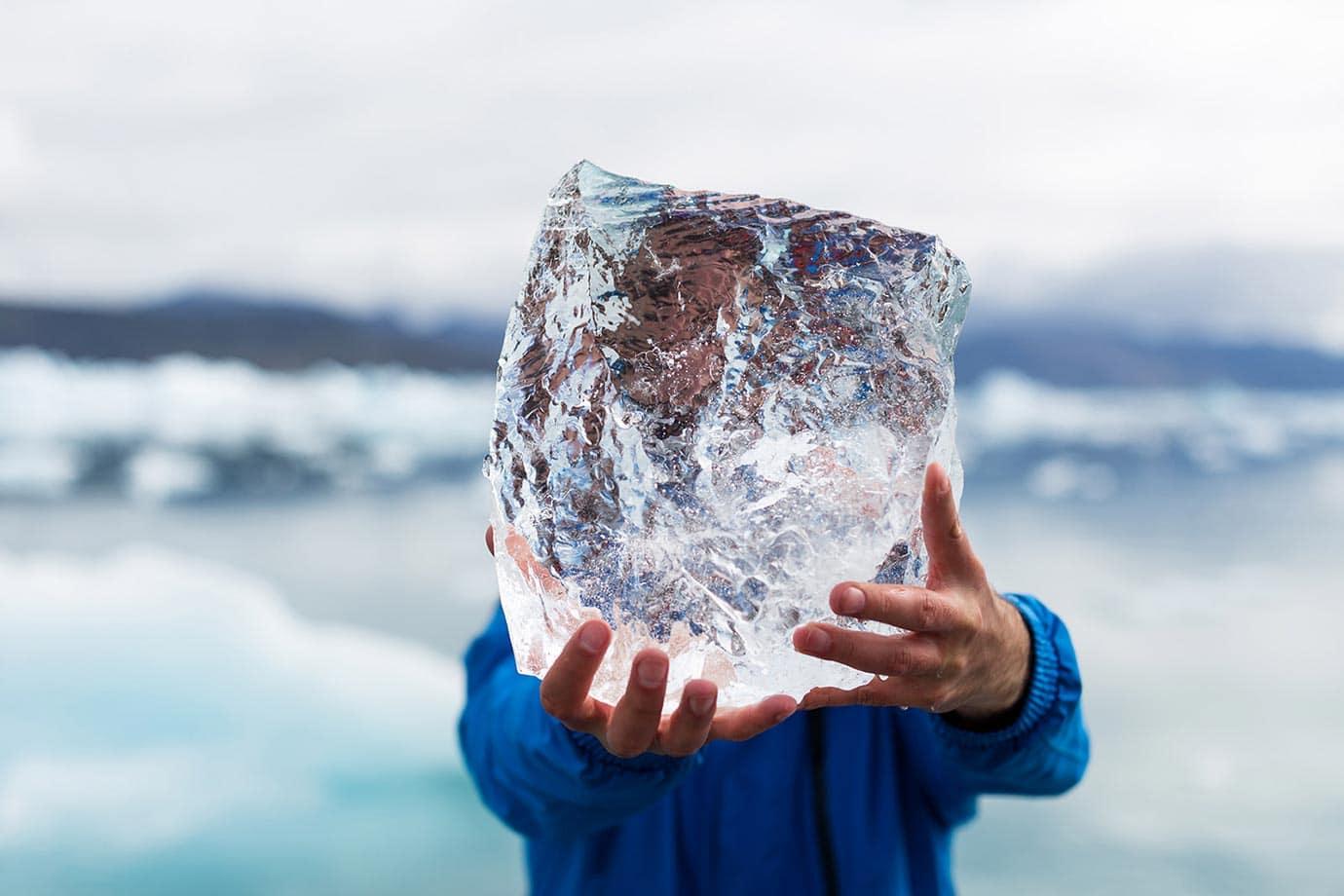 Ice harvesting, Greenland