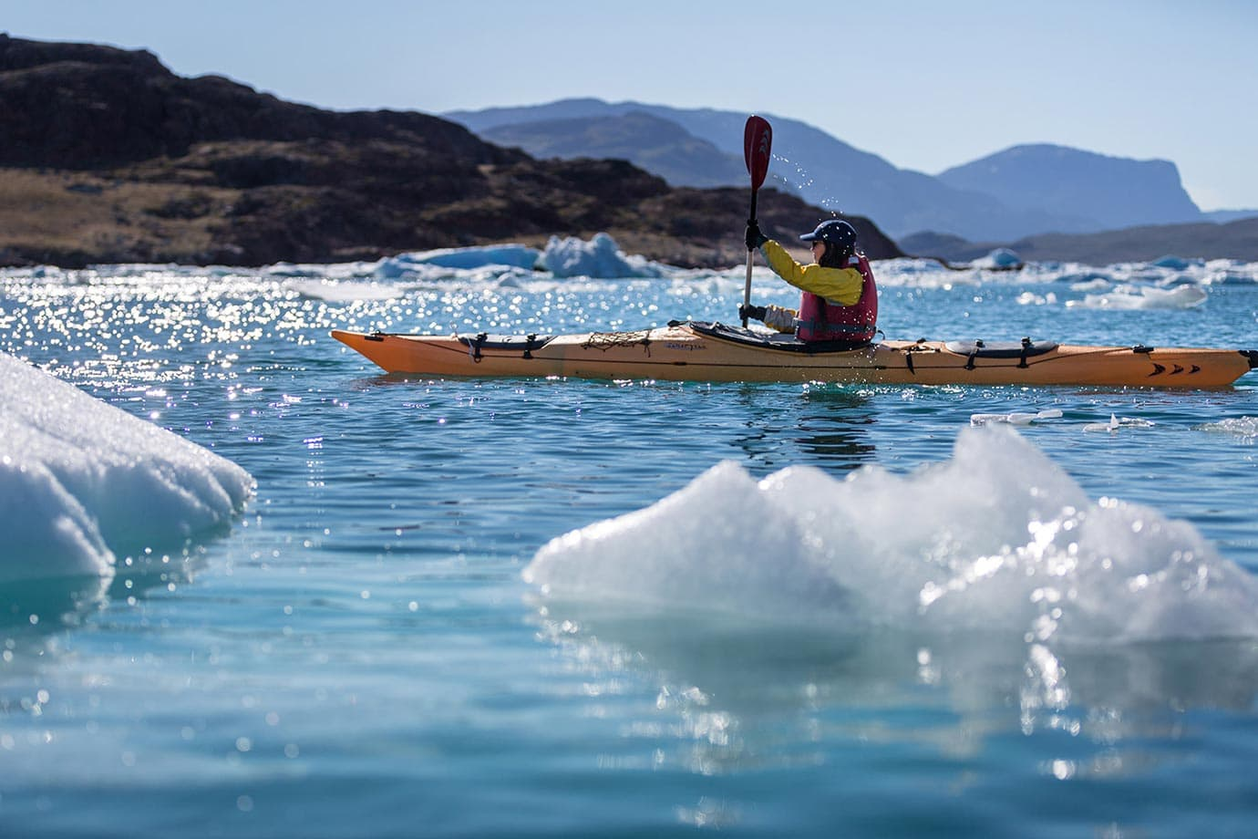 Exploring Greenland by kayak
