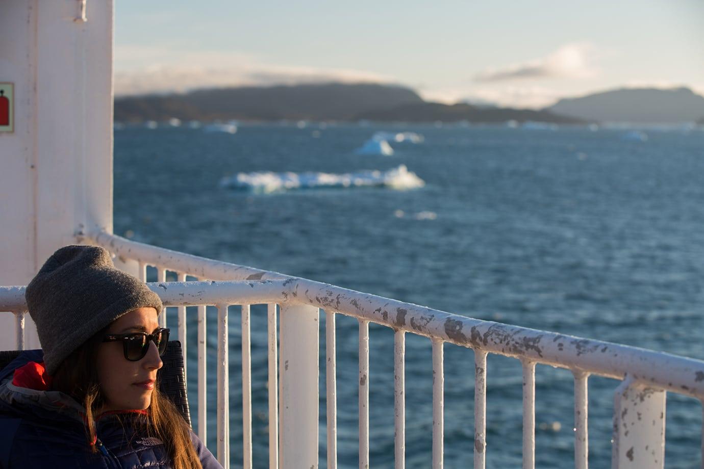 Boat ride on the Sarfaq Ittuk