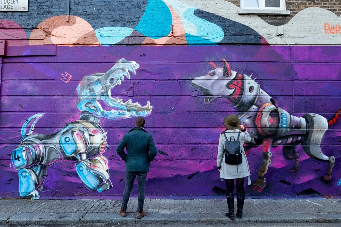 Street Art Tour in Camden Town, London