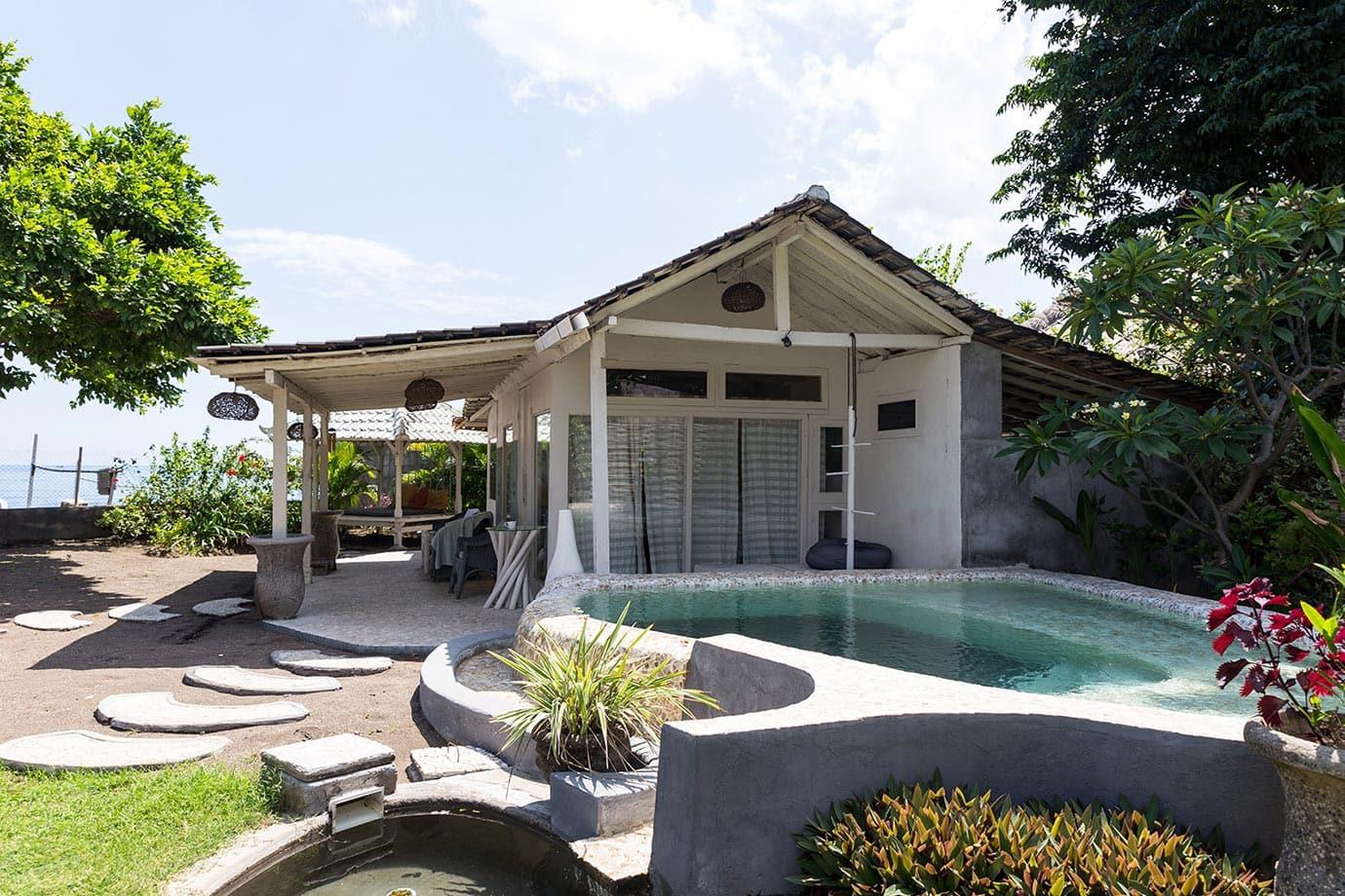 Private pool at Lilin Lovina