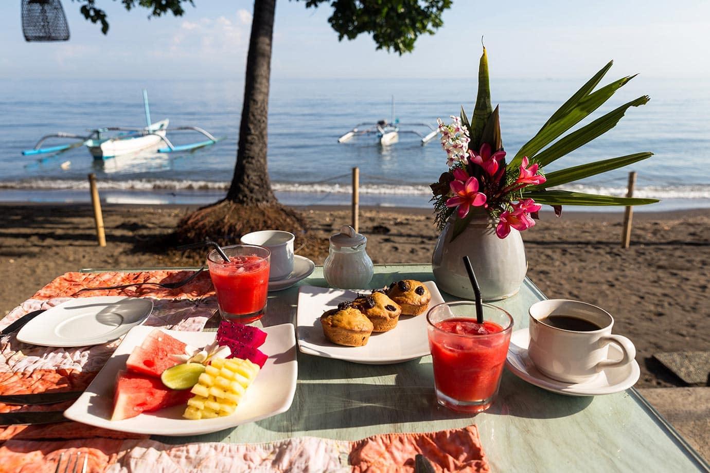 Breakfast at Lilin Lovina