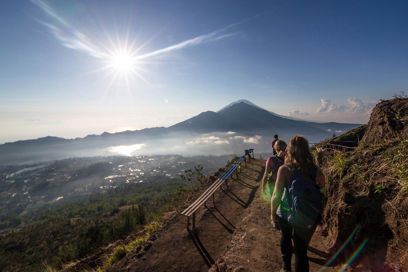 Benches, Mount Batur