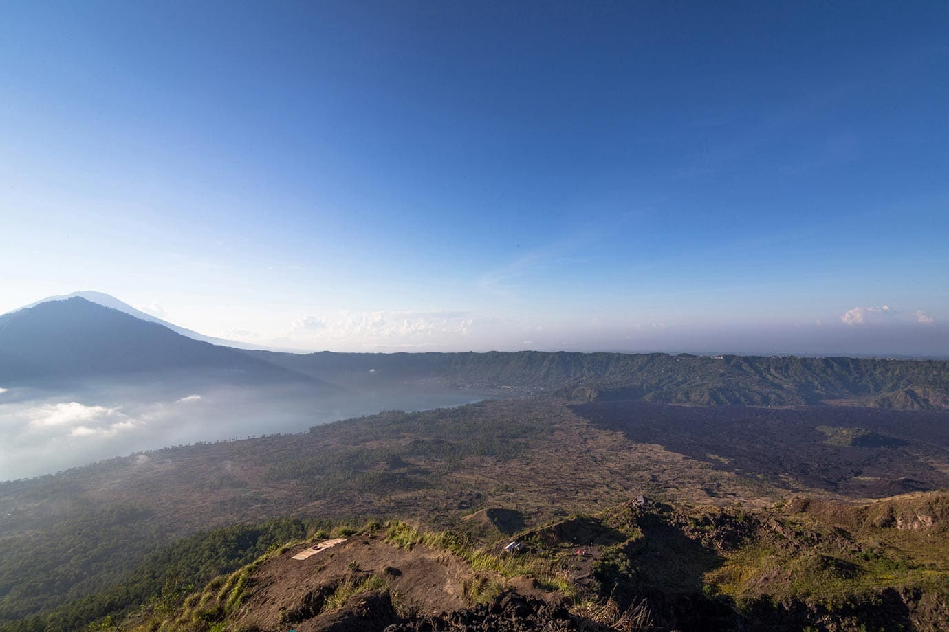 Views from Mount Batur