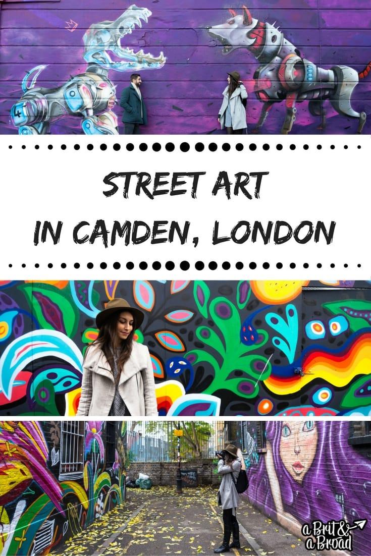 Street art in Camden, London