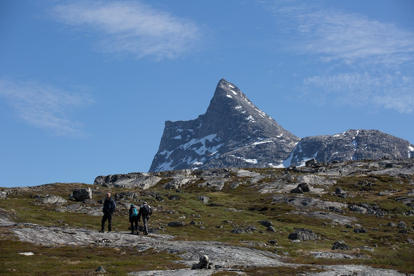 Hiking in Greenland with Touring Greenland