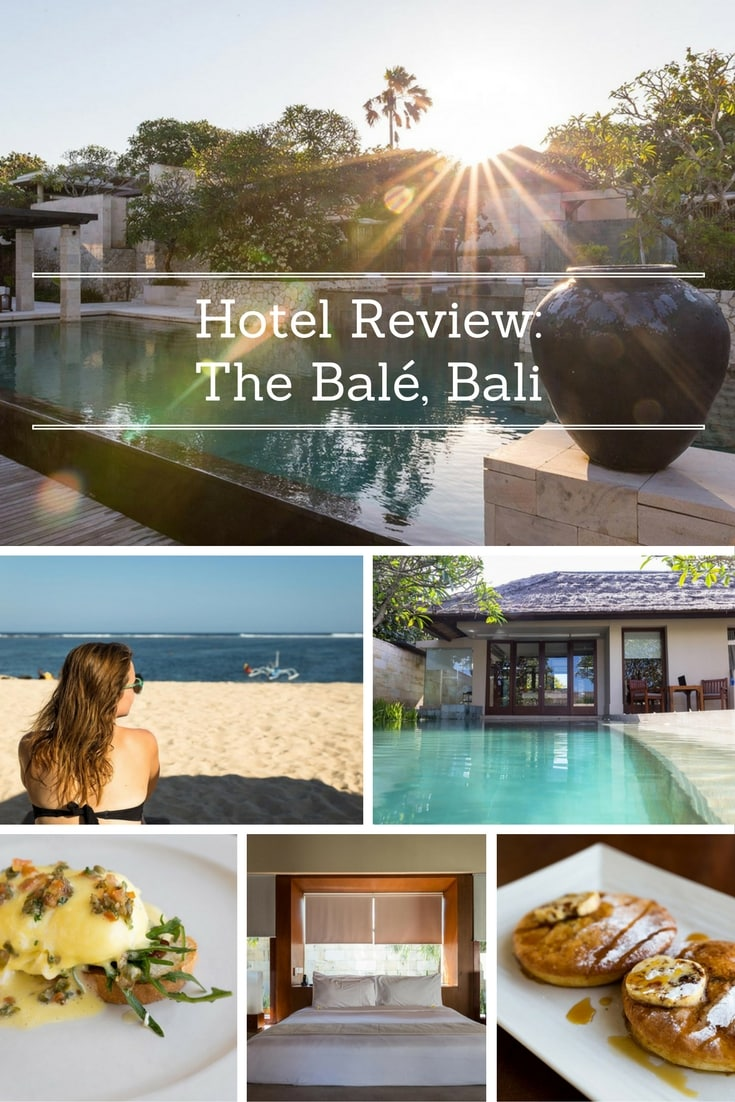 Hotel Review: The Bale, Bali