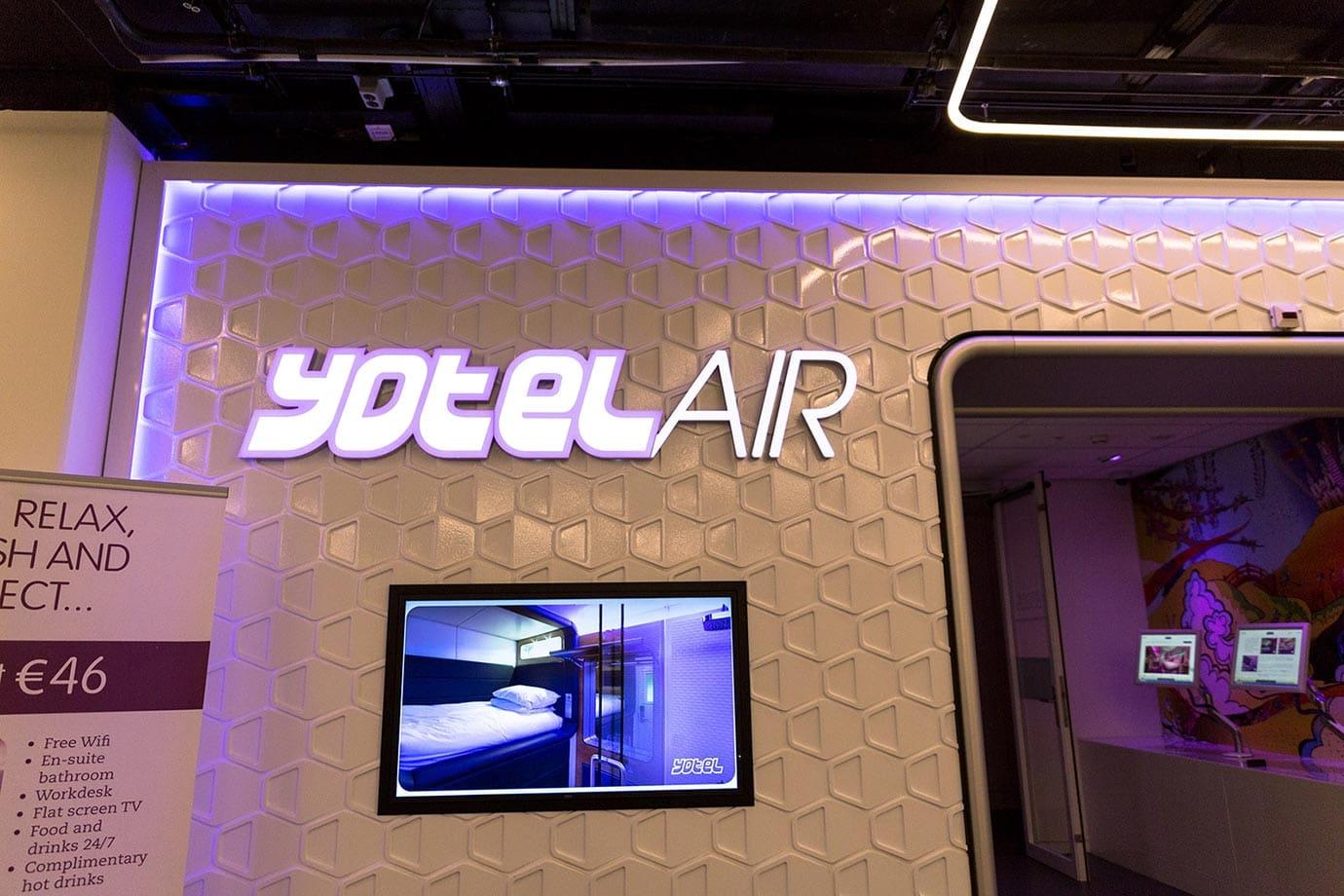 Yotel Air, Schiphol Airport