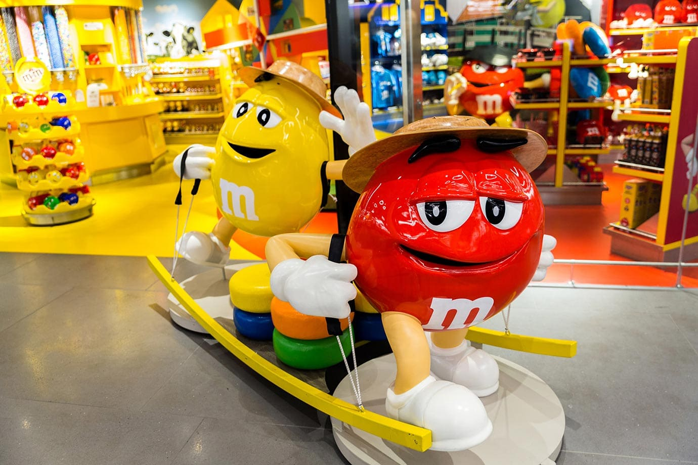 M&M store, Schiphol Airport