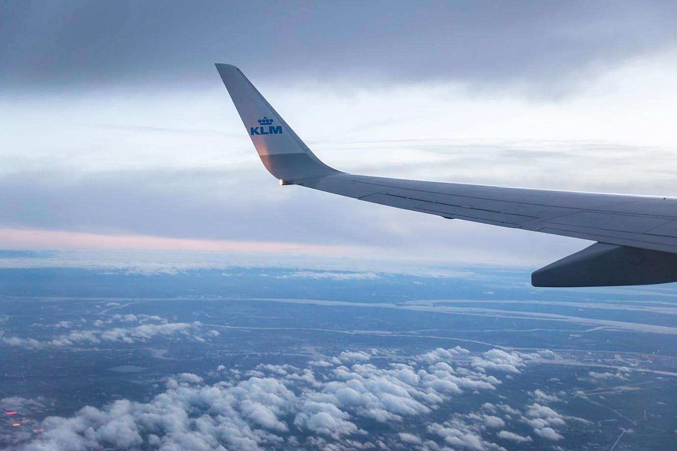 KLM wing