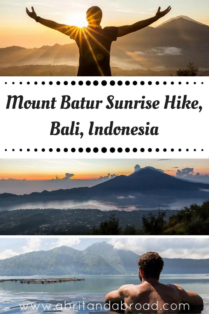 Mount Batur Sunrise Hike, Bali, Indonesia