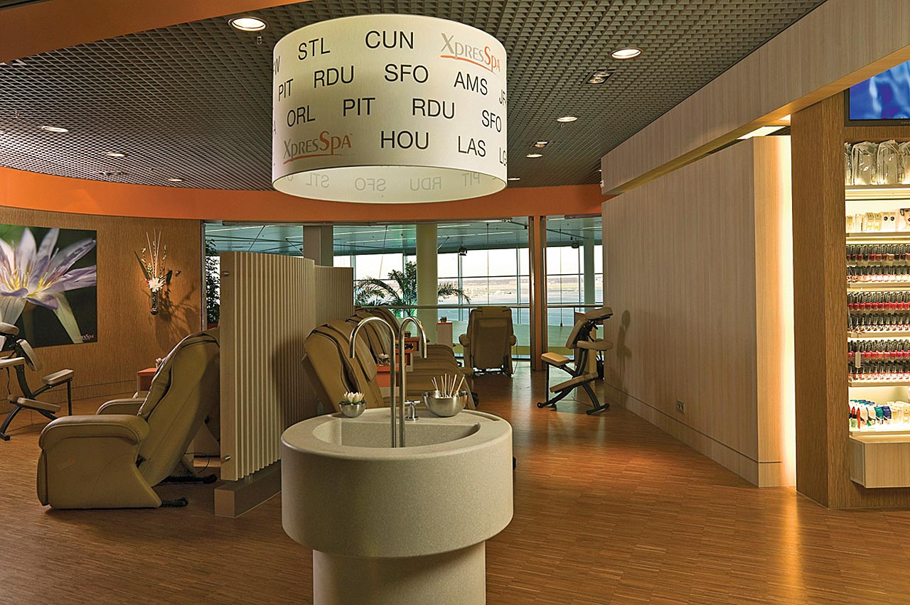 Spa at Schiphol Airport