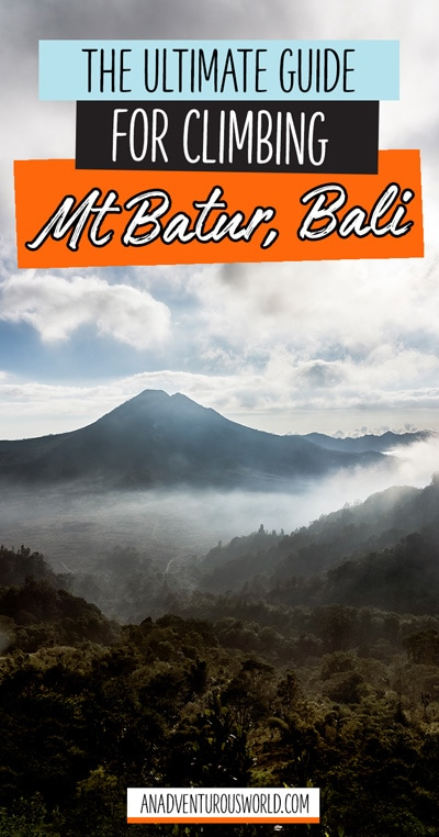 The Mt Batur sunrise hike is one of the best things you can do while in Bali, but here's what it's really like hiking to the top of Mt Batur!