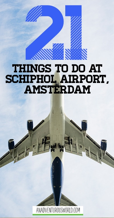 Flying to Amsterdam? Then take a look at the ultimate list of things to do at Schiphol Airport and you'll never be bored again!