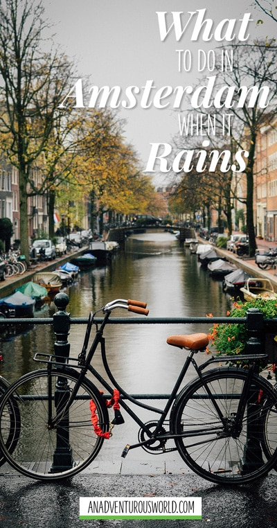 things to do in amsterdam on a rainy day