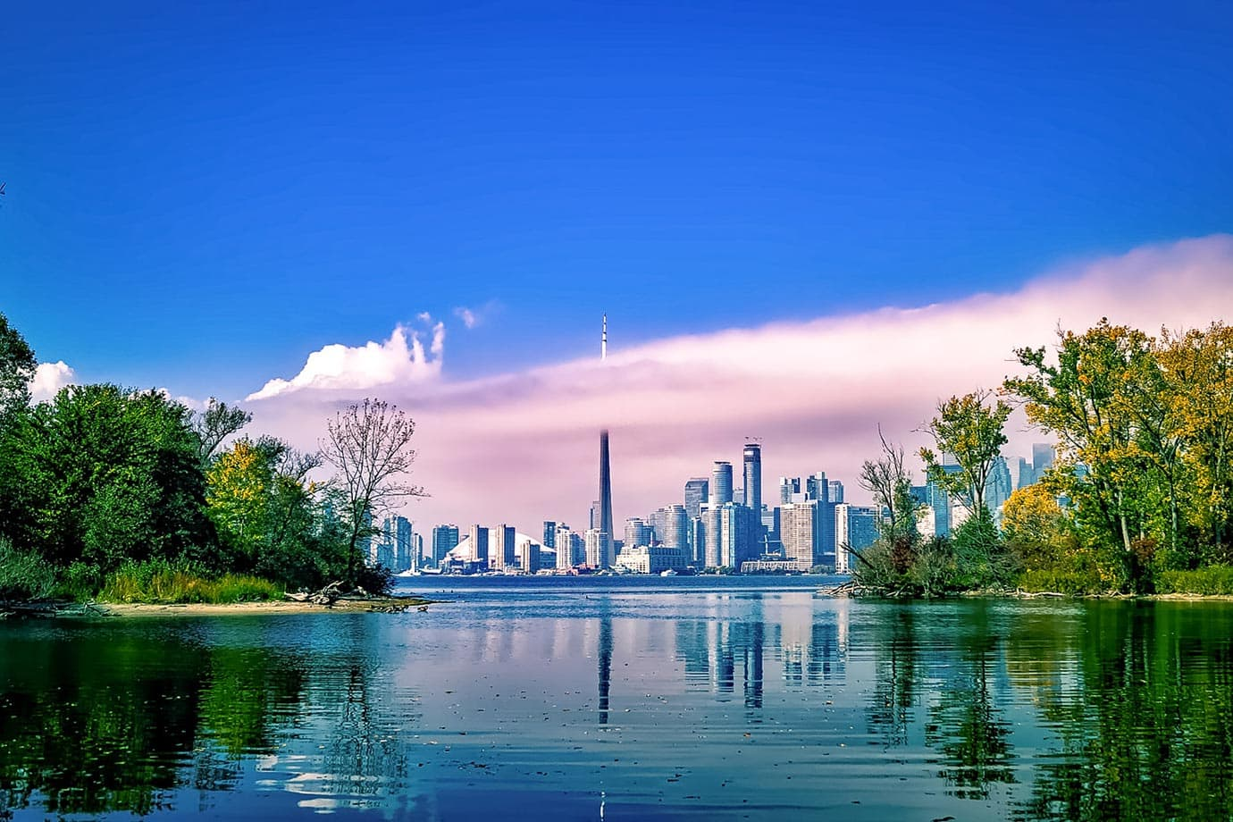 Working in Toronto, Canada