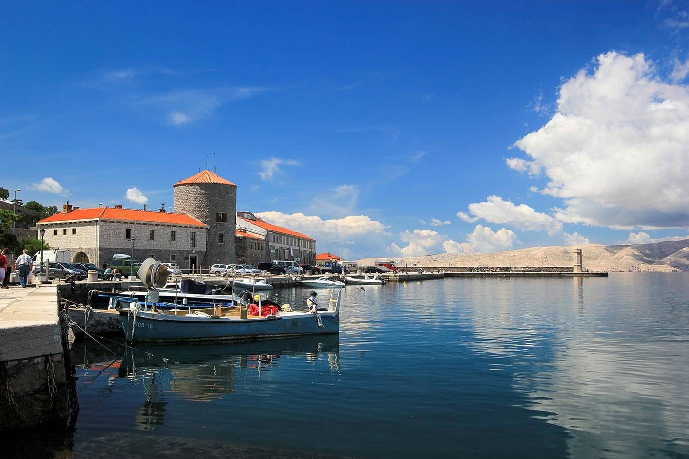 Boats in Croatia