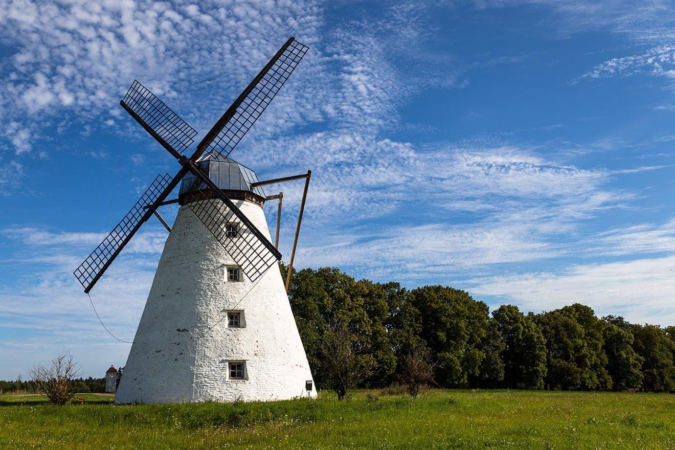 Windmills in Estonia