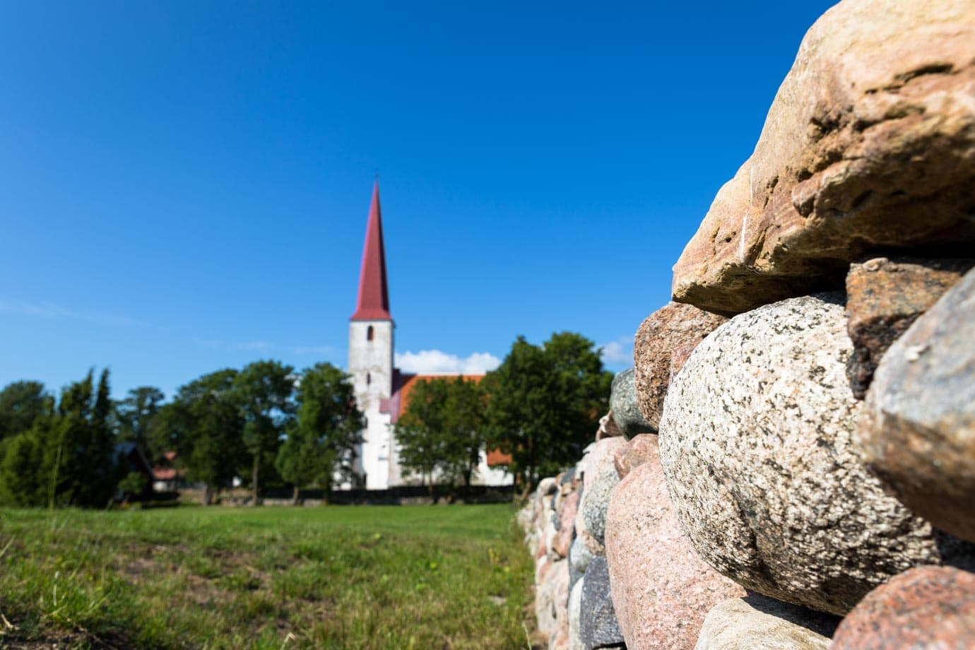 Small village, Estonia