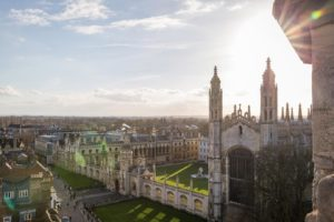 The view of King's College, Cambridge