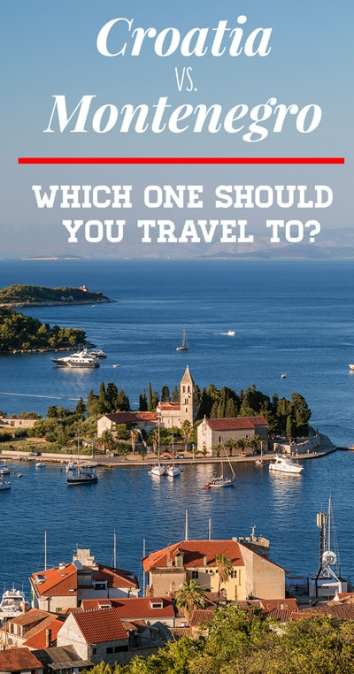 Croatia or Montenegro. That's the question. If you can't decide on where to go between the two then this really is the article for you!