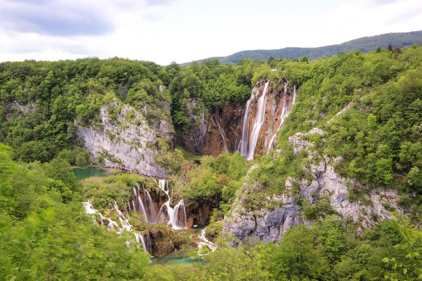 View of Plitvice Lakes National Park, Croatia