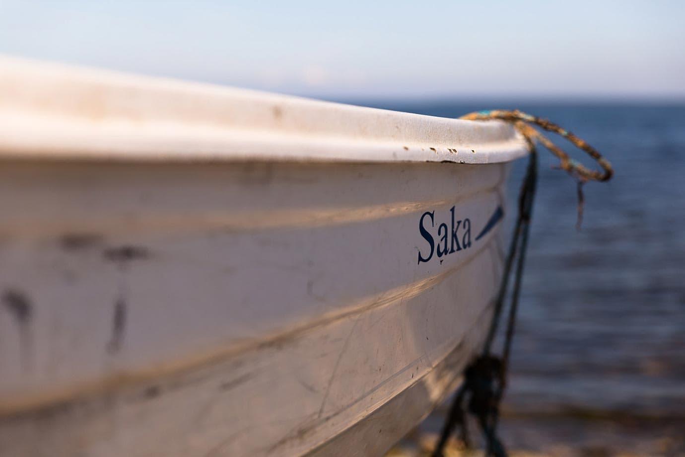 Lost boat in Estonia